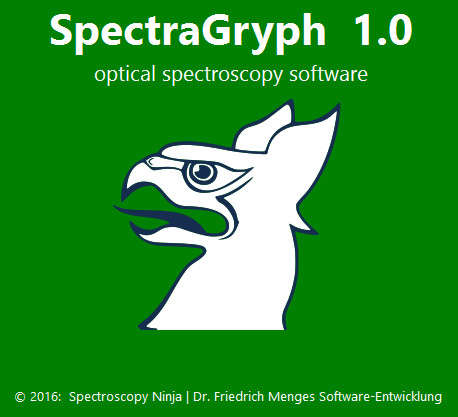 an image for spectraGryph software ad